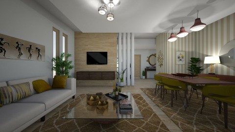 06102017 - Classic - Living room  - by matina1976