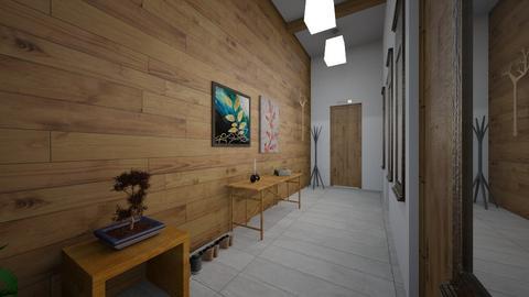 Welcoming Hallway - by GKdesigner