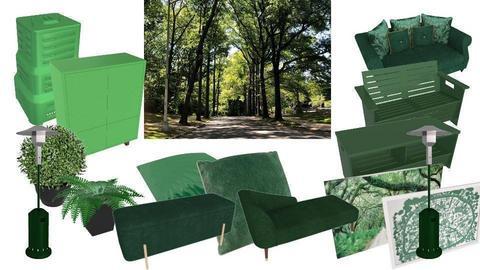 Green Random Forest - by ilikalle