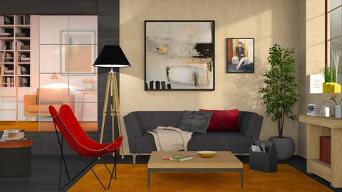 2021 Home Interior - Eclectic - Living room  - by Sally Simpson