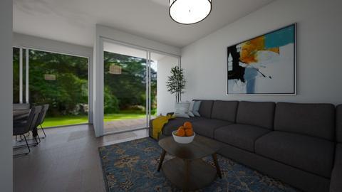 row house - Living room  - by Emira Gibanica Priboj