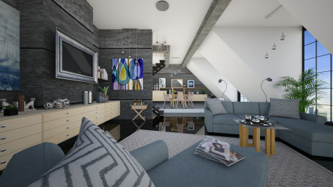 M_Idea StienAerts - Modern - Living room  - by milyca8