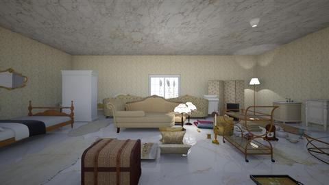 Royal Bedroom - Classic - Bedroom - by jsplayergirl05