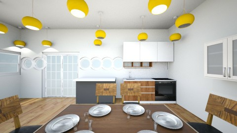 kitchen for 5 by mr pie  - Kitchen - by mr pie