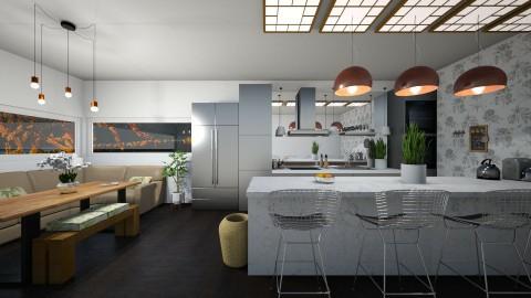 Cozinha - Kitchen  - by Nicolly Moura