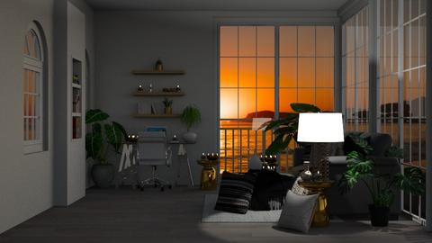 Sunny Day Office_Night - Office  - by TropicalWeed