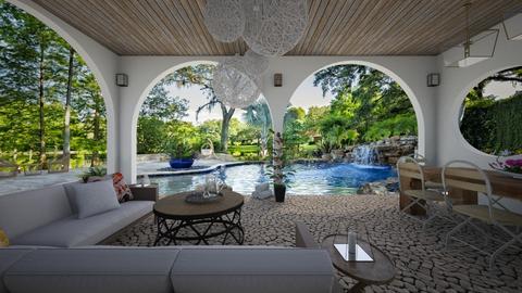 Pool Design 2 - Garden  - by Anjuli