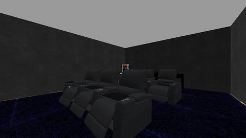 Mid Mod 1 Basement - Modern - by becreattive