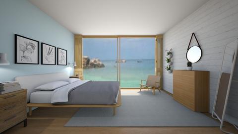 Beach bedroom - Bedroom  - by KathyScott