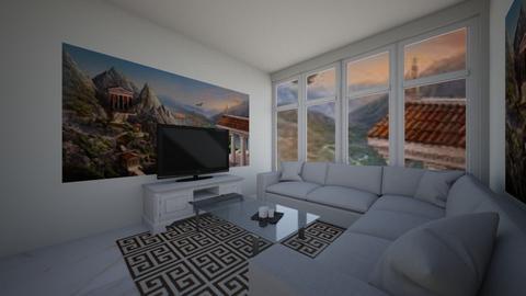 Greek Living room  - Living room  - by TheMasterDesigner09