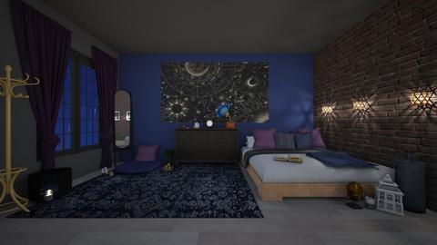 A Q U A R I U S - Bedroom  - by Destiny Michelle
