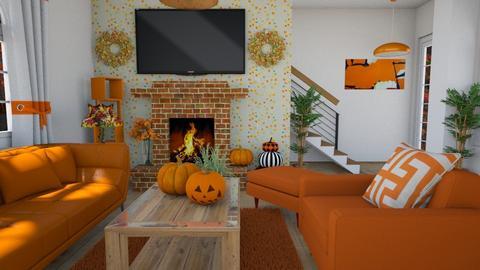 Autumn - Living room  - by nkanyezi