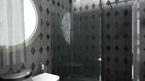 douuche - Glamour - Bathroom  - by Hanane Haidoune