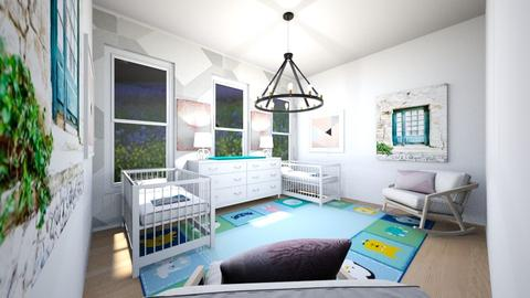 geometric nursery - Kids room  - by WPM0825