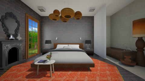 Eclebed - Eclectic - Bedroom  - by 3rdfloor