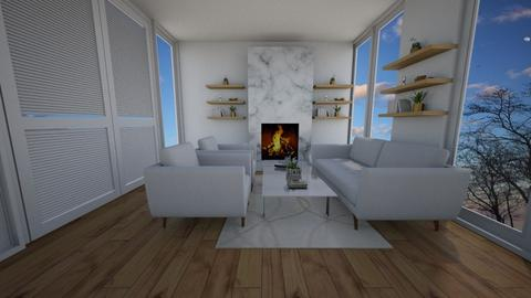 modish - Living room - by Unfinished Sentenc