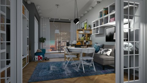 Small Apartment - Modern - Dining room  - by katarina_petakovi