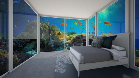 underwater bedroom - by KierraClumdesign