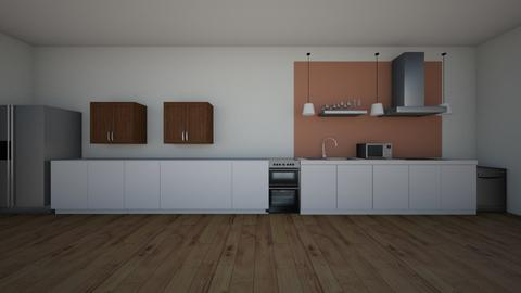 Single Line Kitchen - Kitchen  - by jmcbride