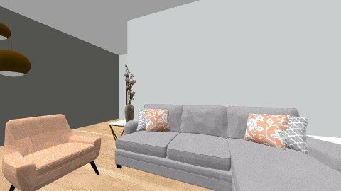 Lasarte - Living room - by Ainarajer