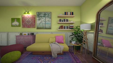 futon - Living room  - by donella