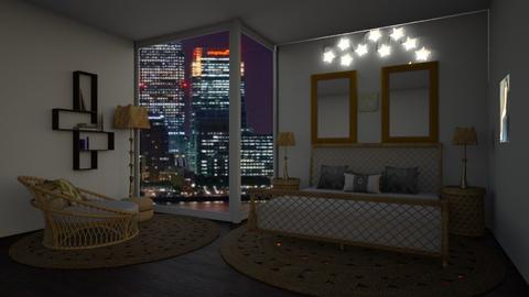 At Night - Bedroom  - by emivim