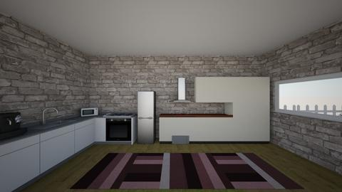 Casa dels meus somnis - Kitchen - by etelbruk