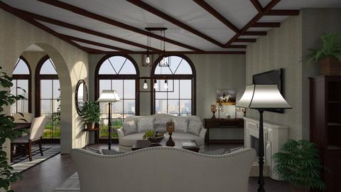 Santa Barbara  - Living room  - by Alda Neziri