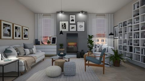 2021 Muted Tones  - Modern - Living room  - by janip