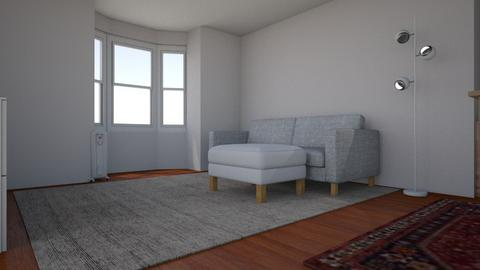 Current Apartment Setup - Living room  - by kellymmackey