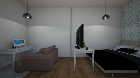 a office and bedroom - Bedroom  - by VICKIELOVESKOALAS1234