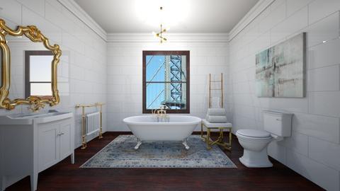 brownstone interior  - Bathroom  - by meredithcrummey