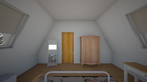 Attic - Bedroom - by Lisel Joseph
