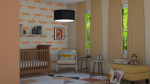 nursery  - Modern - Bedroom - by jammuek