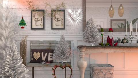 Christmas Wall - Living room  - by Mum Dali