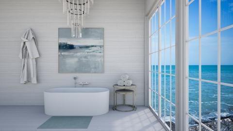 Coastal Bathroom - Modern - Bathroom  - by Beige Cloud
