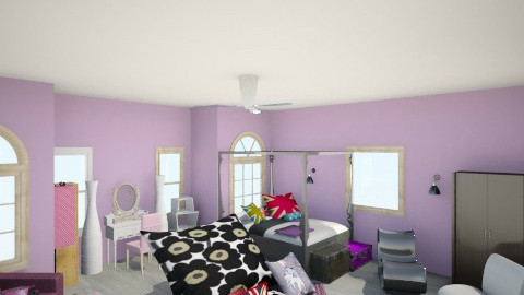 Bedroom Dream1 - Bedroom - by Rissa Pauline Perez
