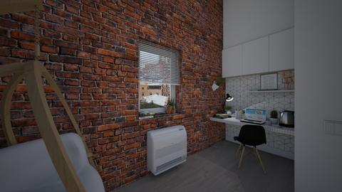 Working Corner1 - Minimal - Office  - by PeculiarLeah