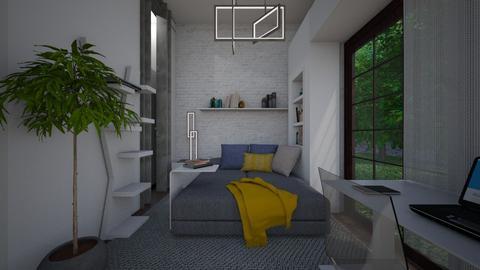 Concrete_kids room - Kids room  - by lovasemoke