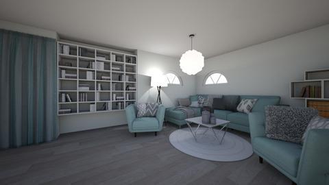 d - Living room  - by pirnatsofija
