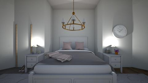 simple and classy bedroom - Feminine - Bedroom  - by coffee_academyy