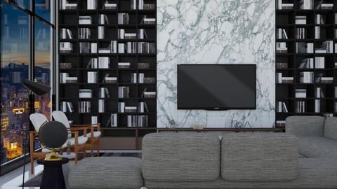 Hobo - Living room - by aletamahi