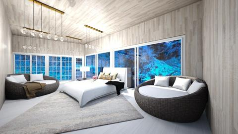 winter bed room - Modern - Bedroom  - by Shiloh Richardson