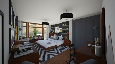 Bedroom redesign - Modern - Bedroom - by camilla_saurus