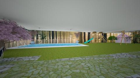Backyard - Modern - Garden  - by tcooney