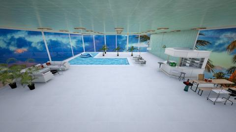 Pool Side  - Garden  - by khinphyucinhtet
