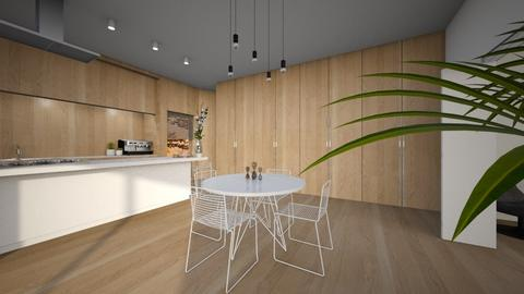 wooden kitchen II - Modern - Kitchen - by BE190