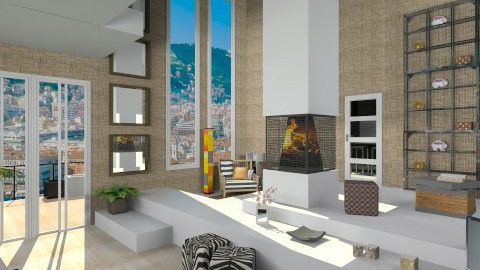 7x7_Cubic Living Room - Modern - by giulygi
