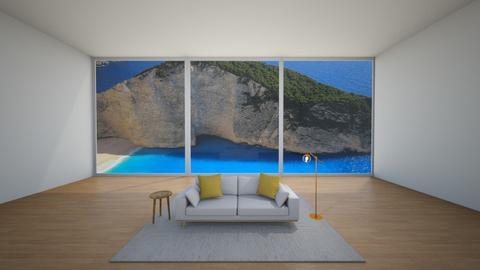Minimalist - Minimal - Living room  - by Agamanta