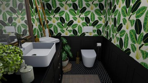 Arty Toilet Room - Eclectic - Bathroom  - by martinabb